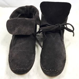 Shoes - Toms Fold Down Boots 7.5